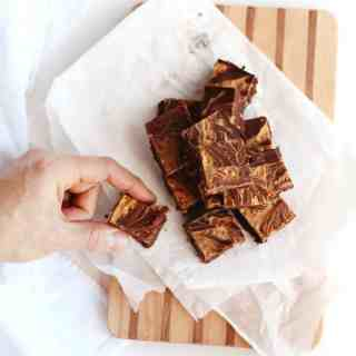 chocolate peanut butter coconut oil fudge