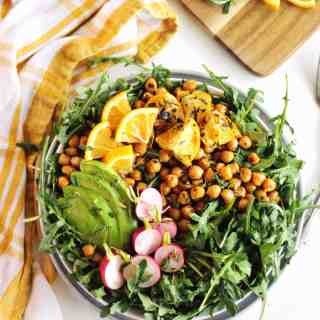 chickpea arugula salad recipe