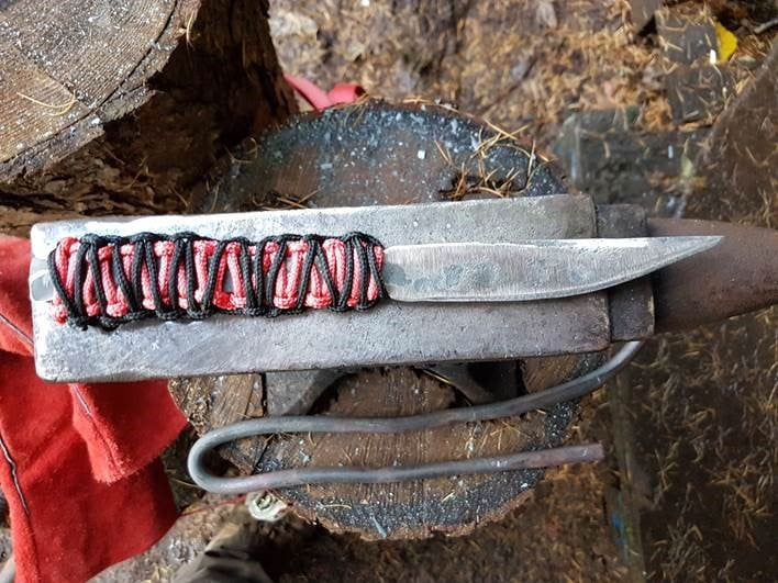 knife forged