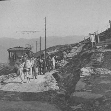 photo historique Rhune gare du sommet 1930