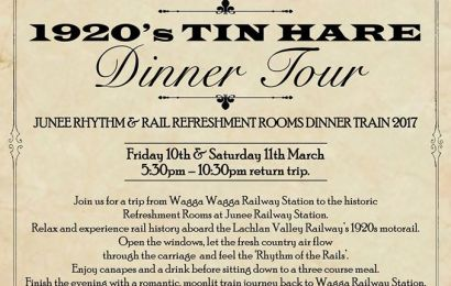 1920's Tin Hare Dinner Tour (2017)