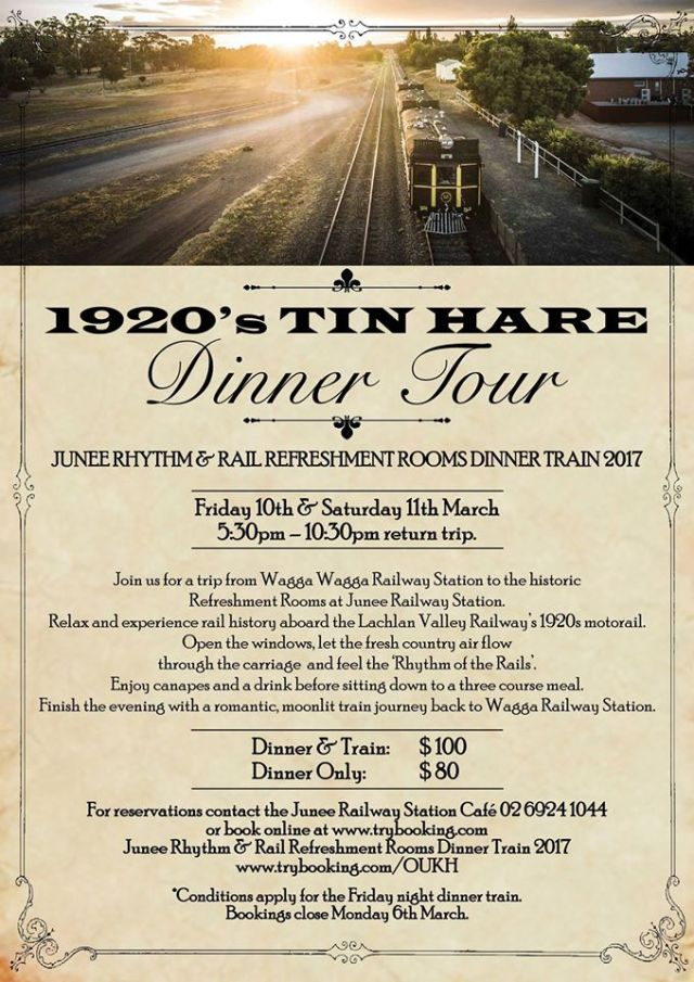 Tin Hare Dinner Tour