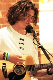Sam Heffernan performing at Junee Licorice & Chocolate Factory[2017 Junee Rhythm n Rail Festival]