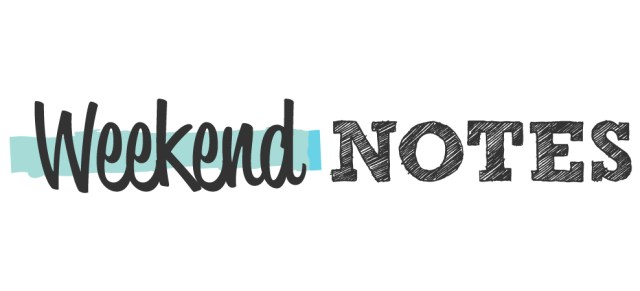 Weekend Notes Logo Banner