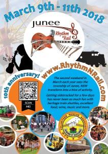 Junee Rhythm n Rail 2018 Poster 02