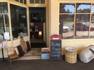Belmore Manor Collectibles -- A Pop-up shop that appeared in Junee during the 2018 Rhythm n Rail Festival