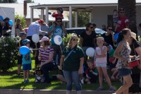 Watching the Junee Street Parade