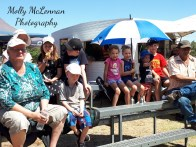 Vintage Speedway appeals to families -- both young and old !!! at Illabo Motorsports Park