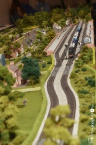 Model Train Display [2015 Rhythm n Rail]