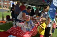 St Joesph's Primary School stall at Markets on Broadway [2015 Rhythm n Rail]