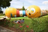 Fun for the kids in Dobbyn Park [2016 Rhythm n Rail]