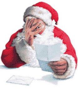 Babbo Natale è preoccupato…