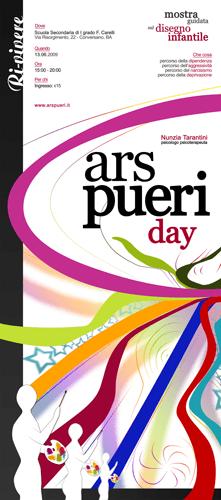 Locandina dell'Ars pueri day del 13 giugno 2009