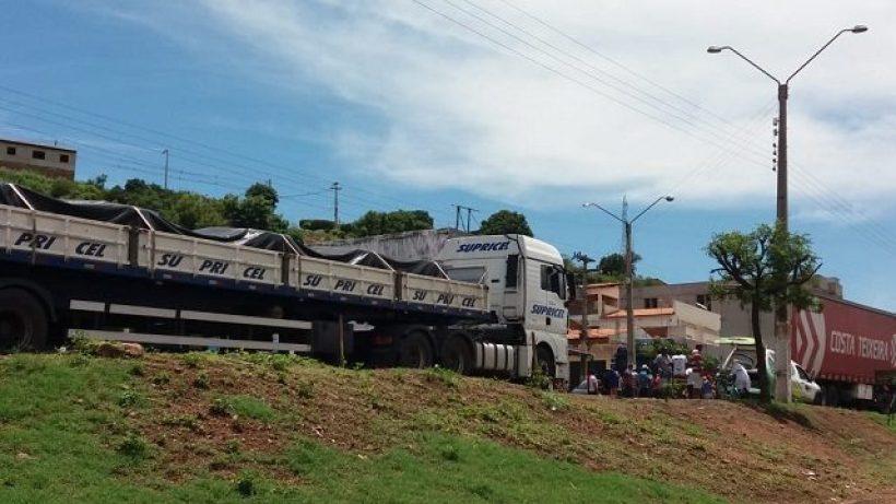 Atropelamento na BR 316, na altura do bairro São José