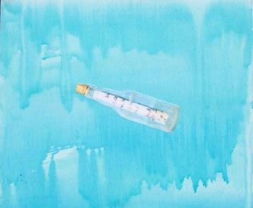 3 Installatie Geheimen van de Zee, paneel 9 (60 bij 50cm)