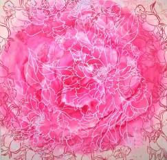 roos 50 bij 50 met zeefdruk 31