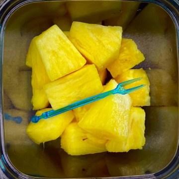 Ananas pezzi