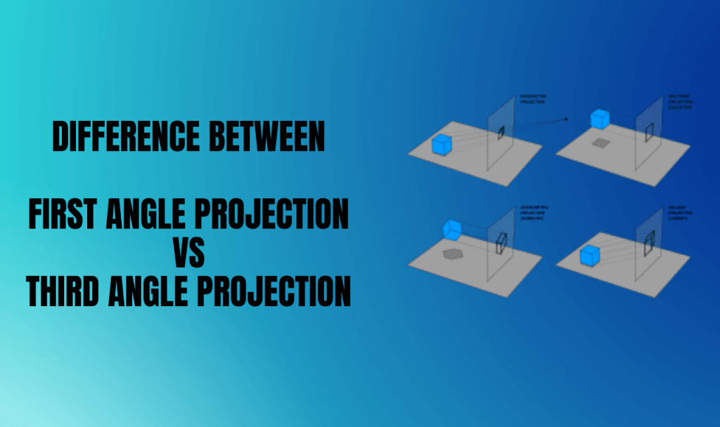 first angle projection vs third angle projection