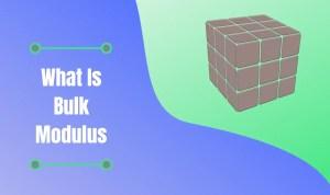 bulk modulus