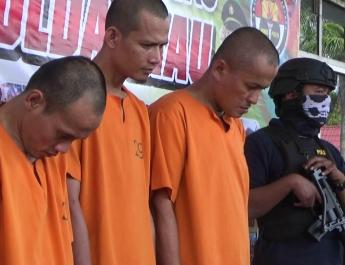 Gendong Sabu Bengkalis-Pekanbaru, 2 Pria Dibekuk