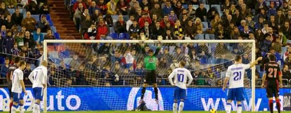 Zaragoza 5 - Deportivo 3 - Aranzubia penalti