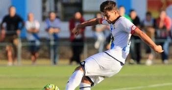 Luis Fernández en pretemporada con el Deportivo