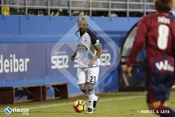 Gael Kakuta debutó con el Deportivo en Ipurua.