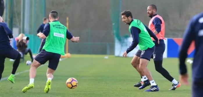 Entrenamiento Deportivo en Abegondo - Celso Borges