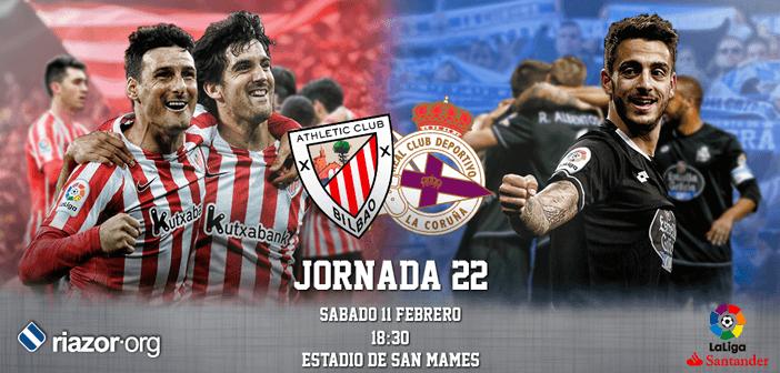 Jornada 22 Liga Santander Athletic Club Deportivo de La Coruña