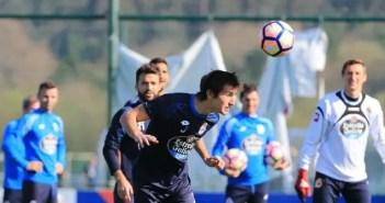 Pedro Mosquera - entrenamiento Deportivo Abegondo