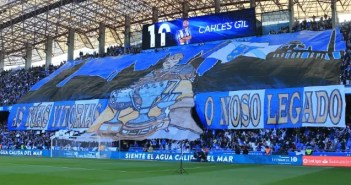 Tiffo Riazor Blues Dépor vs Celta