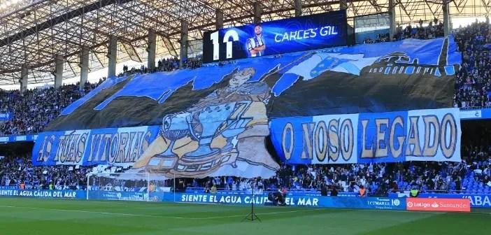 Tiffo Riazor Blues Dépor vs Celta