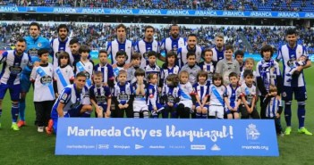 Once inicial Deportivo vs Betis