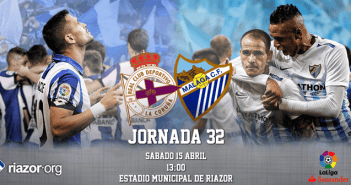 Jornada 32 Liga Santander Deportivo de La Coruña Málaga