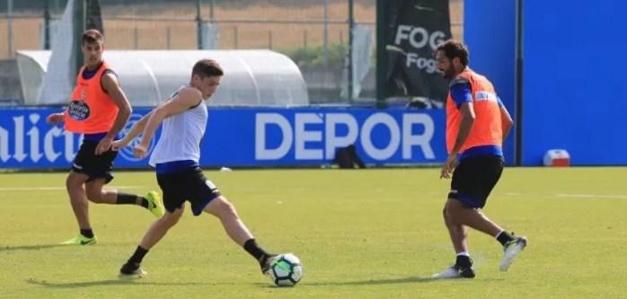 Fede Valverde y Celso Borges