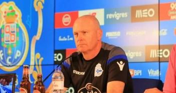 Pepe Mel rueda de prensa FC Porto - RC Deportivo
