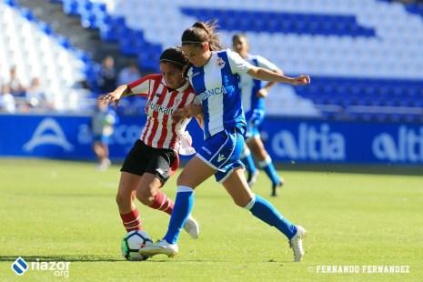 Dépor Femenino - Athletic de Bilbao: Sara del Estal