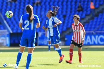 Dépor Femenino - Athletic de Bilbao: Kika