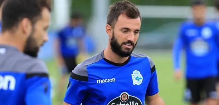 Emre Çolak entrenamiento Deportivo 24 de agosto 2017