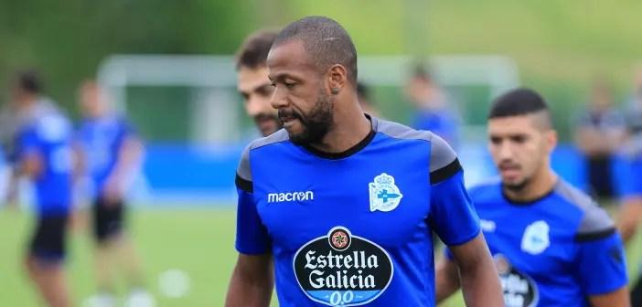 Sidnei entrenamiento Deportivo 24 de agosto 2017