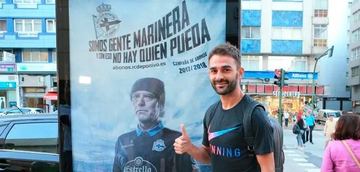 Adrián López ya está en A Coruña
