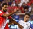 Celso Borges en un partido con la seleccion de Costa Rica