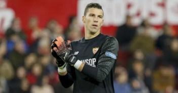 David Soria, titular en el Sevilla-Deportivo