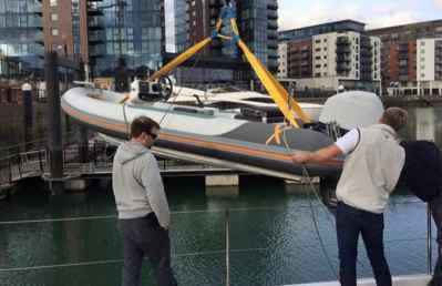 Rib-X Firebird3 Superyacht Tender