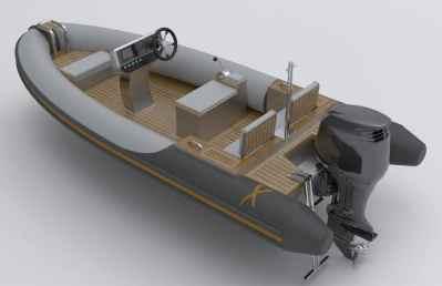 Rib-X Firebird4 Superyacht Tender