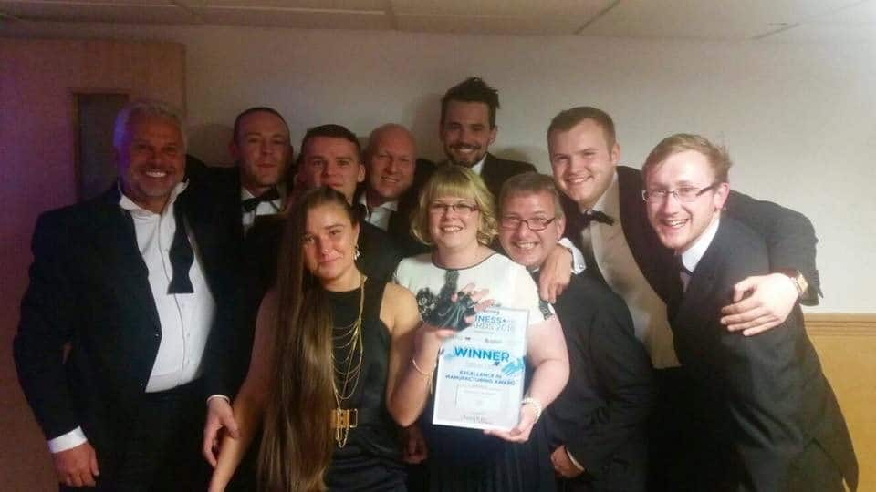 RibX Win 2016 Manufacturing of Excellence Award