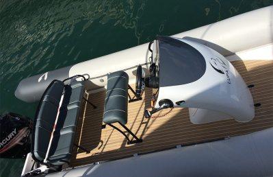Rib-X Lupa of London Superyacht Tender