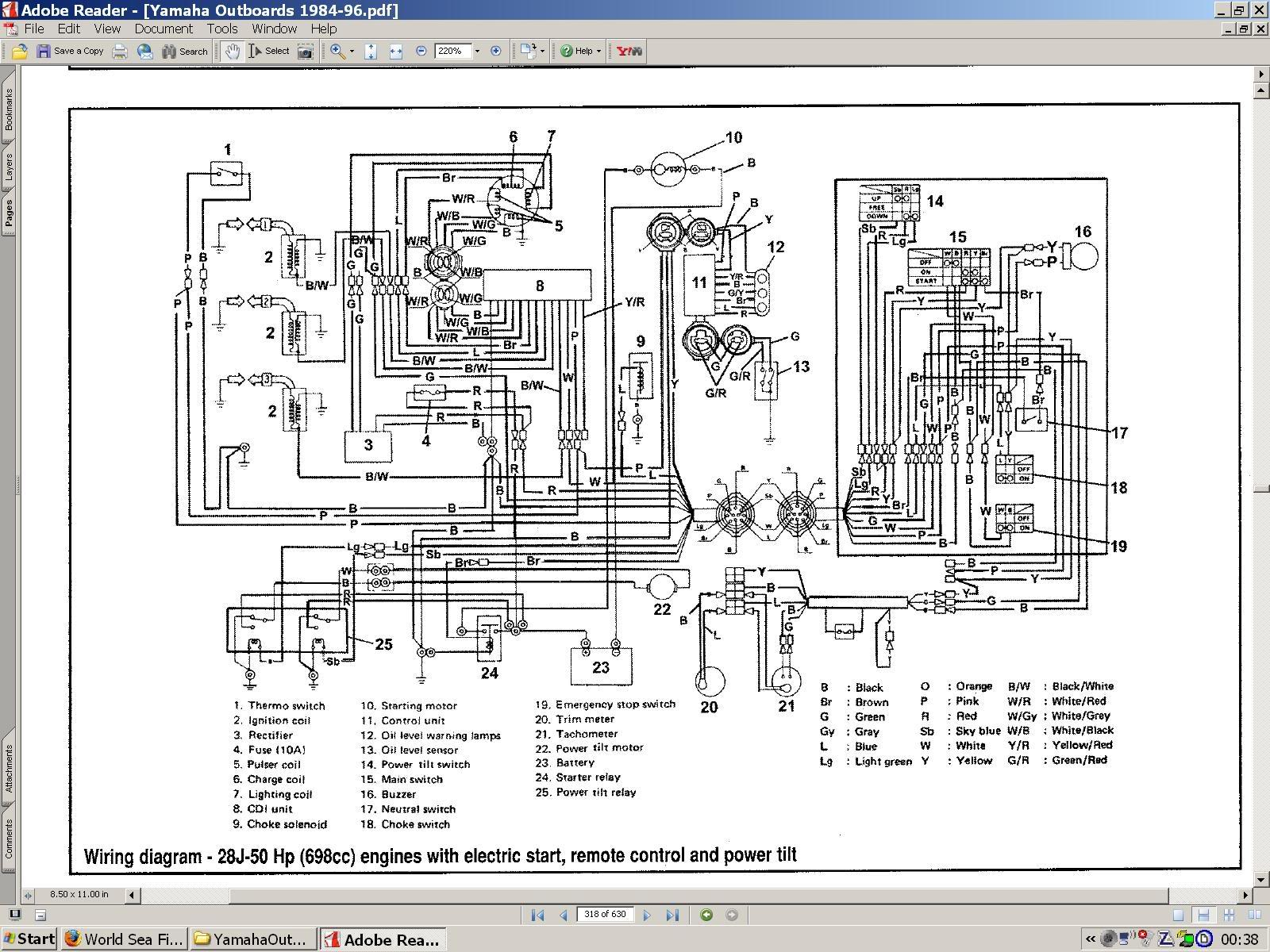 Yamaha 703 Remote Control Wiring Diagram Powerking