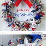 Diy Patriotic Rag Wreath