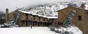 Nieve en Ribera del Corneja
